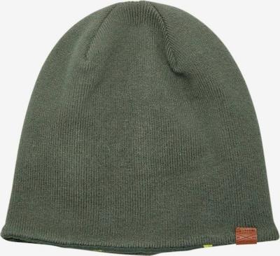 NAME IT Mütze in khaki / kiwi / schwarz, Produktansicht
