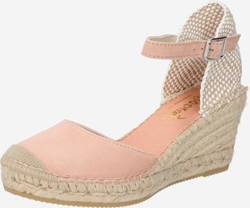 Sandales Vidorreta en beige