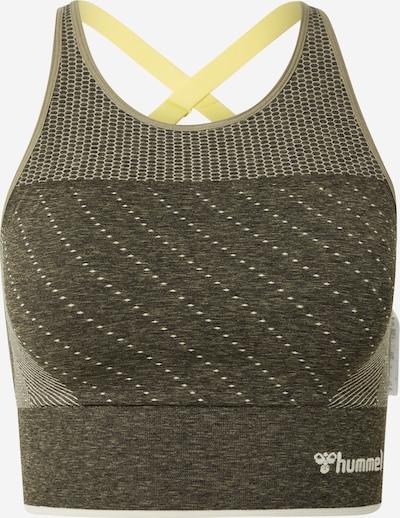 Hummel Top sportowy 'Hana' w kolorze ciemnoszary / białym, Podgląd produktu