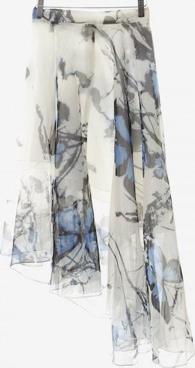 CHICWISH Volantrock in S in rauchblau / schwarz / weiß, Produktansicht