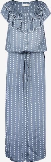 Isla Ibiza Bonita Kleid in taubenblau / weiß, Produktansicht