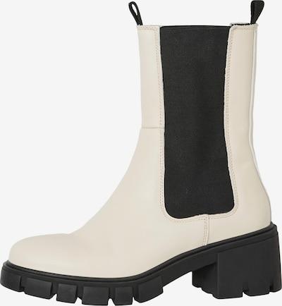 VERO MODA Chelsea Boots 'Rikko' en noir / blanc, Vue avec produit