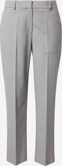TOMMY HILFIGER Trousers with creases in grey / black, Item view