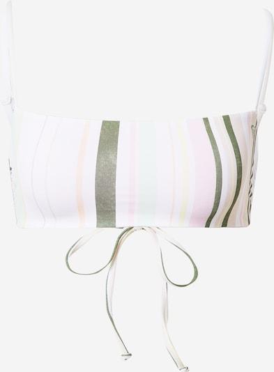pasztellsárga / khaki / menta / pasztell-rózsaszín / fehér ROXY Bikini felső 'SEA & WAVES REVO': Elölnézet
