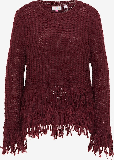 IZIA Pullover in bordeaux, Produktansicht
