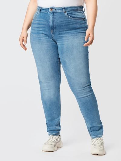 Jeans 'CARRICA' ONLY Carmakoma pe albastru, Vizualizare model