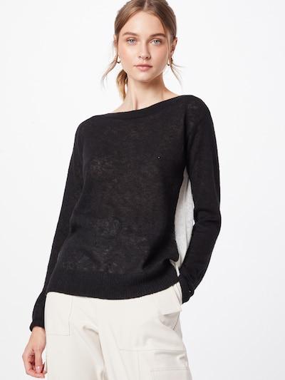 Calvin Klein Pullover in schwarz / weiß, Modelansicht