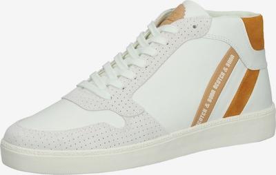 SCOTCH & SODA Sneaker in braun / weiß, Produktansicht