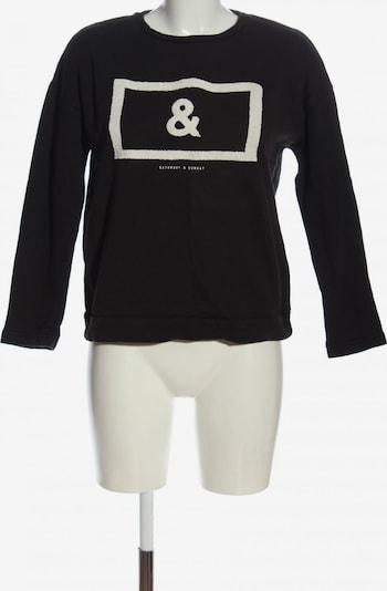 MNG by Mango Sweatshirt in S in schwarz / weiß, Produktansicht
