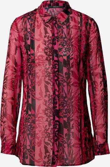 GUESS Bluza | rdeča / svetlo rdeča barva, Prikaz izdelka