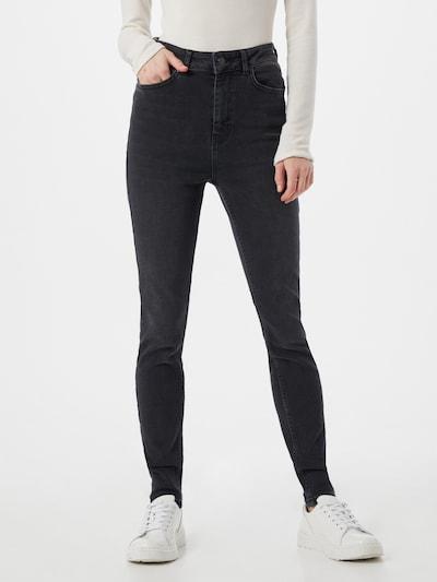 OBJECT Jeans in schwarz, Modelansicht