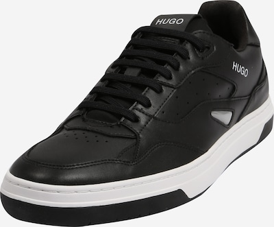 HUGO Baskets basses en noir, Vue avec produit