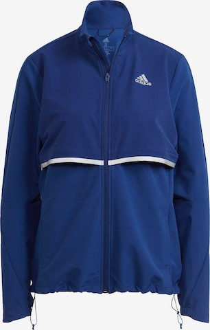 ADIDAS PERFORMANCE Training Jacket 'Own The Run' in Blue
