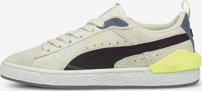 PUMA Sneaker 'Suede Bloc' in beige / gelb / graphit / schwarz, Produktansicht