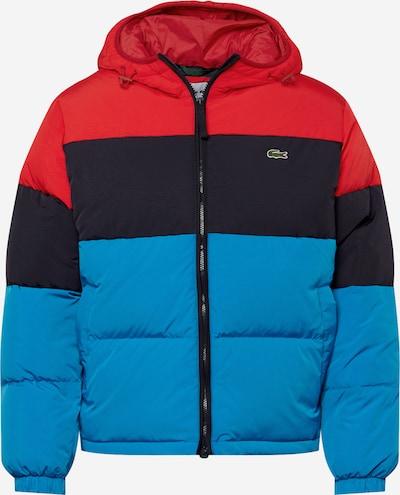 LACOSTE Jacke in himmelblau / rot / schwarz, Produktansicht