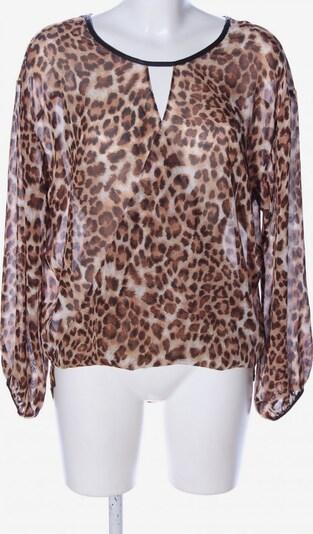 SINGLE Transparenz-Bluse in M in nude / braun / schwarz, Produktansicht