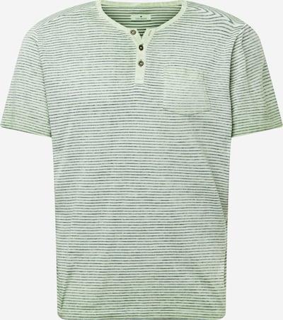 Tricou TOM TAILOR pe verde deschis / negru, Vizualizare produs