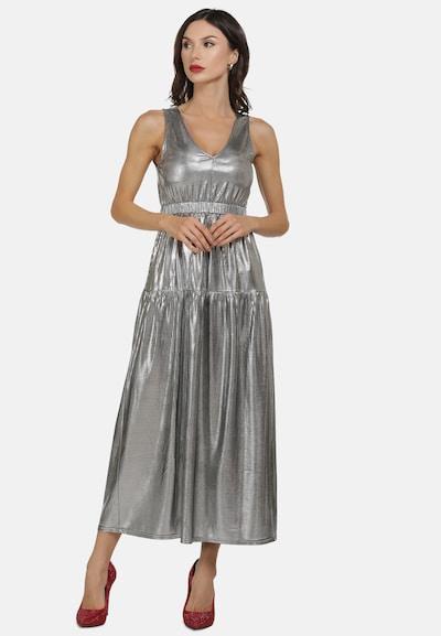 faina Kleid in silber, Modelansicht