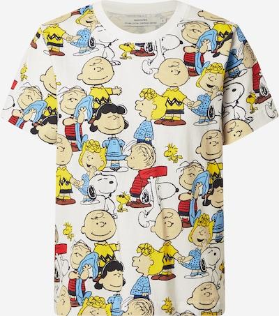 DEDICATED. T-shirt 'Mysen Peanuts' en mélange de couleurs / blanc cassé, Vue avec produit