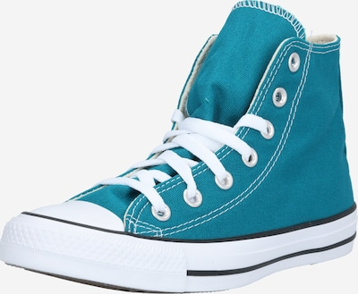 CONVERSE Sneakers hoog 'Chuck Taylor All Star' in de kleur Petrol / Wit, Productweergave