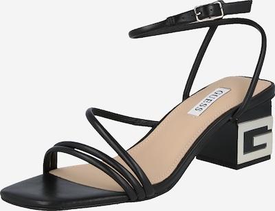 GUESS Sandales à lanières 'MACRE' en noir, Vue avec produit