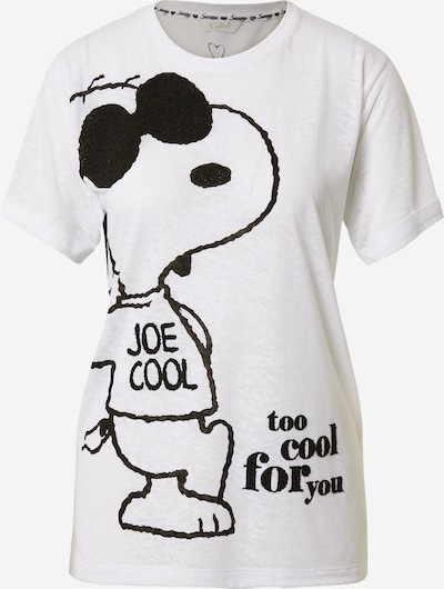 Frogbox T-Krekls 'Snoopy - Too cool for you' balts, Preces skats