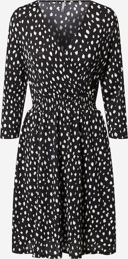 ONLY Robe 'PELLA' en noir / blanc, Vue avec produit