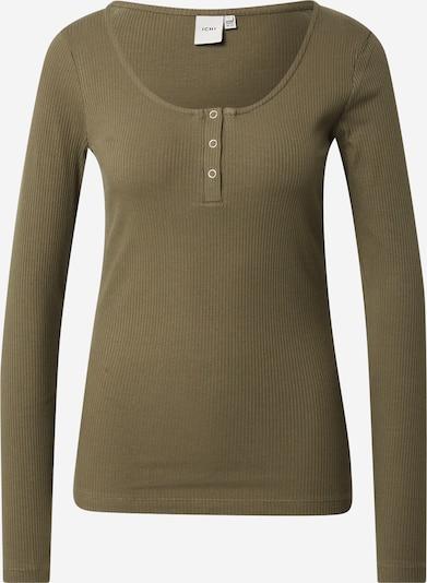 ICHI Shirt 'IHSUPER' in khaki, Produktansicht