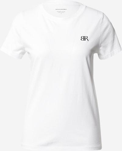 Banana Republic Тениска в кафяво / черно / бяло, Преглед на продукта