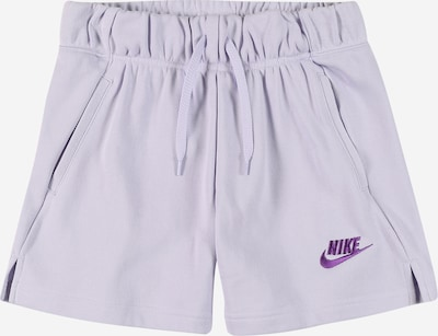 Nike Sportswear Pantalon en lavande / violet foncé, Vue avec produit
