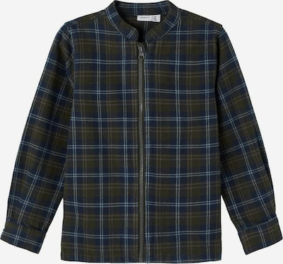 NAME IT Overhemd in de kleur Lichtblauw / Donkerblauw / Donkergroen, Productweergave