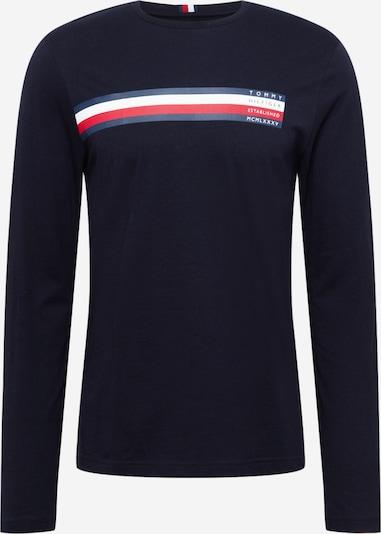 TOMMY HILFIGER Shirt in marine / nachtblau / grenadine / weiß, Produktansicht
