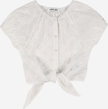 REPLAY Blouse in White