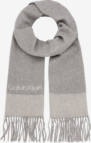 Calvin Klein Schal in Grau