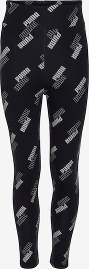 PUMA Leggings in hellgrau / schwarz, Produktansicht