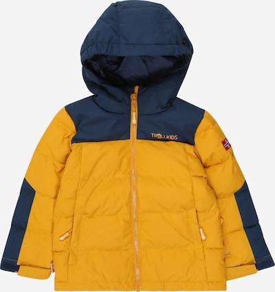 TROLLKIDS Outdoorová bunda 'Narvik' - námořnická modř / zlatě žlutá, Produkt