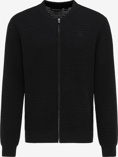 TUFFSKULL Cardigan in schwarz, Produktansicht