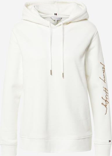 TOMMY HILFIGER Μπλούζα φούτερ σε μπροκάρ / offwhite, Άποψη προϊόντος