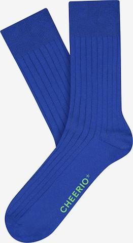 CHEERIO* Socks 'TOUGH GUY' in Blue