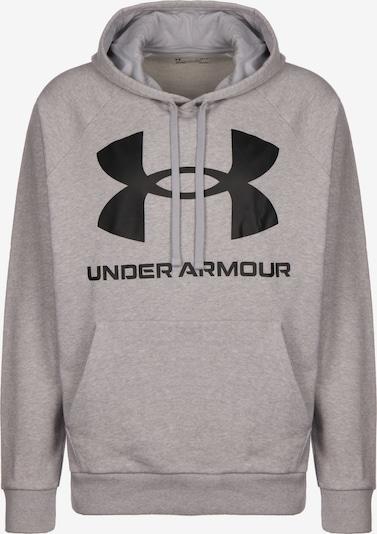 UNDER ARMOUR Pullover in grau / schwarz, Produktansicht