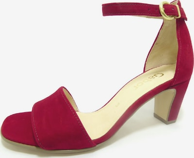 GABOR Sandalen in fuchsia, Produktansicht