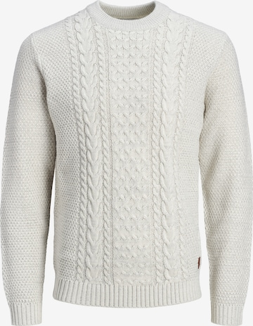 JACK & JONES Sweater 'Craig' in White