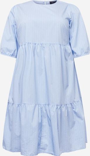 Zizzi Vestido 'XJAMA' en azul claro / blanco, Vista del producto