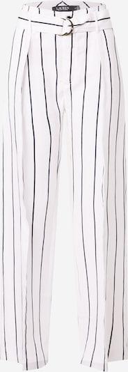 Lauren Ralph Lauren Bandplooibroek 'HAVINIA' in de kleur Zwart / Wit, Productweergave