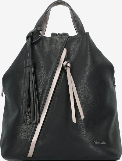 TAMARIS Rugzak 'Birte ' in de kleur Zwart / Zilver, Productweergave