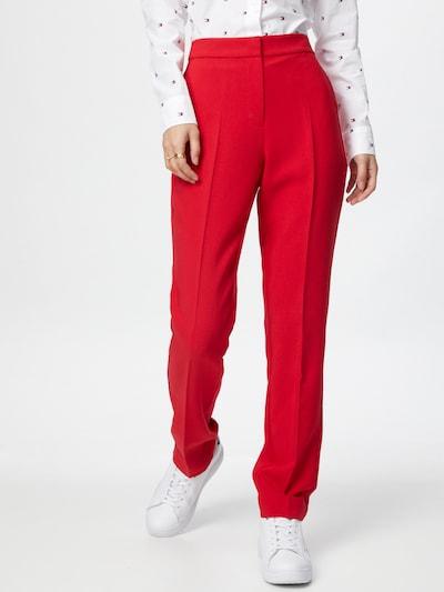 TOMMY HILFIGER Hose in rot, Modelansicht