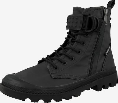 Palladium Schnürstiefelette 'Pampa Legion' in schwarz, Produktansicht