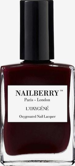 Nailberry Nagellack 'L'Oxygéné Oxygenated' in weinrot, Produktansicht