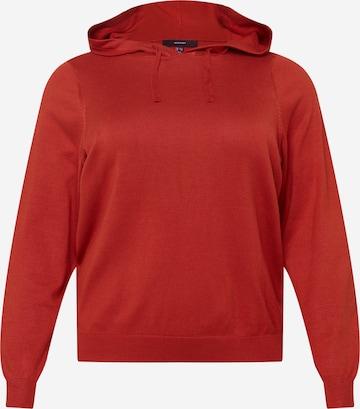 Vero Moda Curve Sweatshirt 'EDITH' in Rot