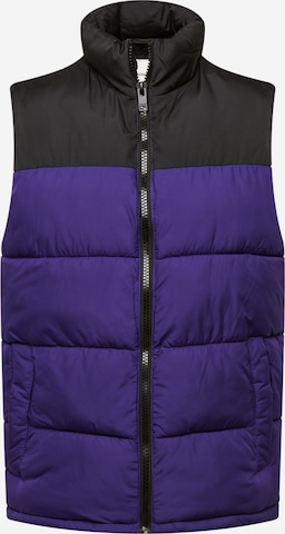 JACK & JONES Vest 'PAUL' in Purple